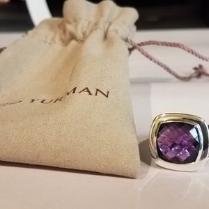 Authentic David Yurman 14mm Amethyst Thoroughbed R